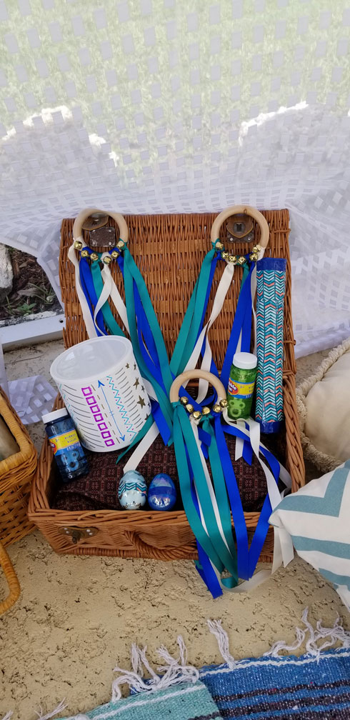 Handcrafted dancing ribbons