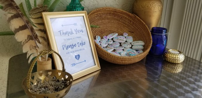 Hand-painted party favors