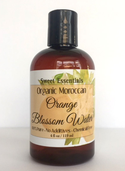 orange blossom water recipe