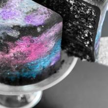 Nebula Galaxy cake
