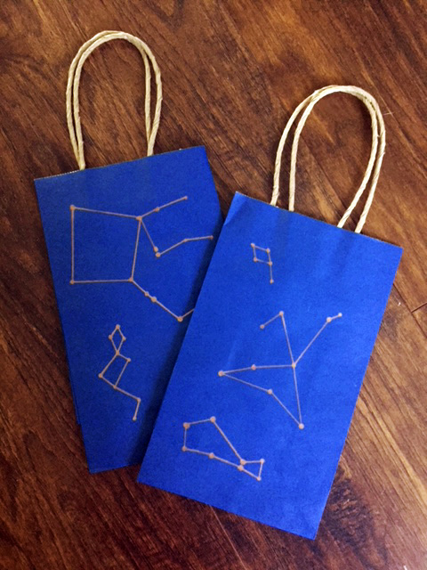 stargazing gift bags