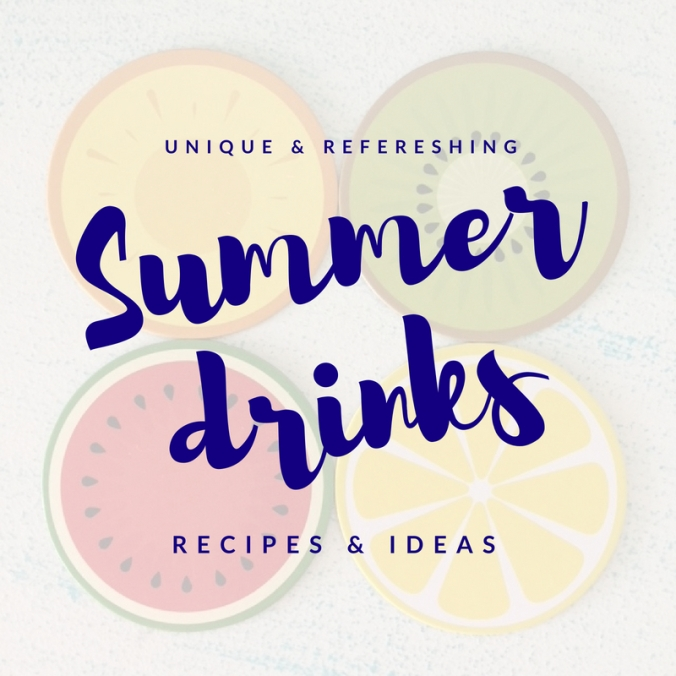 summer drink recipes and ideas