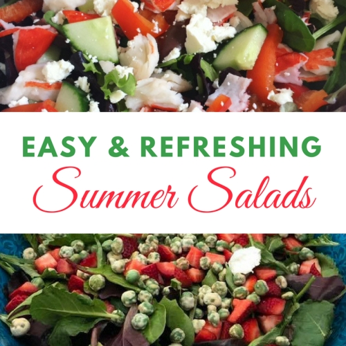 easy unique summer salad