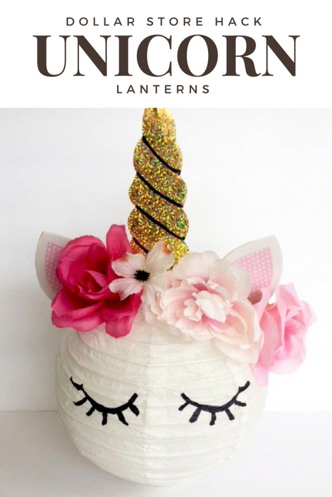 DIY Unicorn Party Lantern