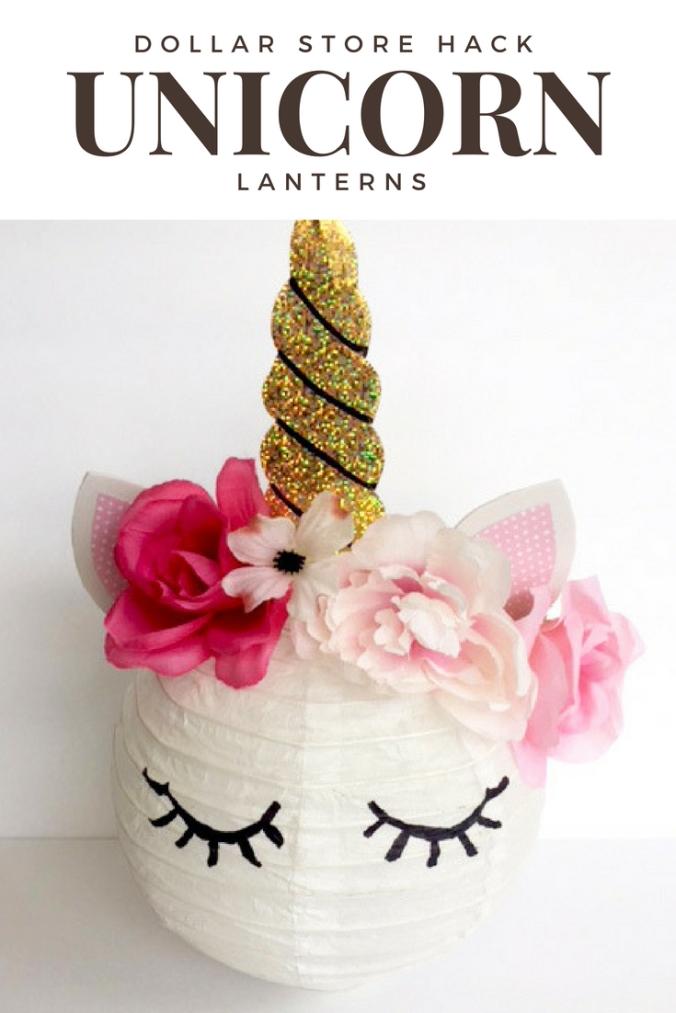 DIY Unicorn Party Lantern
